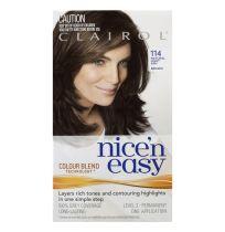 Clairol Nice 'N Easy 114 Natural Light Ash Brown 1 Pack