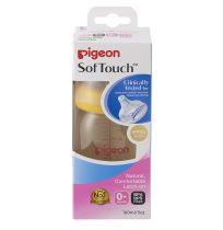 Pigeon Peristaltic Plus Bottle Wide Neck PPSU 160ml