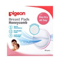 Pigeon Breast Pads Honeycomb 24 Pack