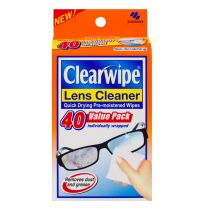 Clearwipe Lens Cleanser 40 Value Pack