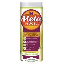 Metamucil Fibre Supplement Granular Natural 114 Doses