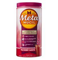 Metamucil Fibre Supplement Smooth Wild Berry 114 Doses