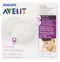 Philips Avent Washable Breast Pads 6 Pack