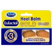 Scholl Eulactol Heel Balm Gold 60ml