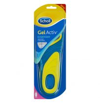Scholl Gel Activ Everyday Insoles for Ladies 1 Pair
