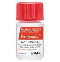 Ferro Grad C 30 Tablets