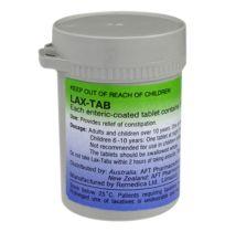 Lax Tab Bisacodyl 5mg 200 Tabs
