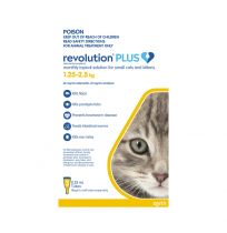 Revolution Plus Small Cats and Kittens 3 Pack