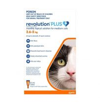 Revolution Plus Medium Cats 3 Pack