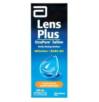 Lens Plus Ocupure Saline Solution 360ml