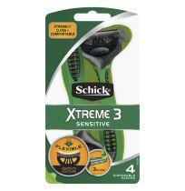 Schick Men Xtreme 3 Sensitive Razors 4 + 1 Pack