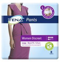 TENA Pants Women Discreet Large 8 Pack