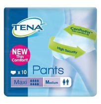 TENA Pants Maxi Medium 10 Pack