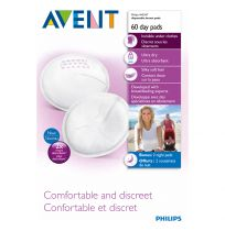 Philips Avent Disposable Breast Pads for Day Time 60 Pack