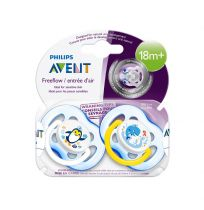 Avent Soothers 18+ Months 2 Pack Assorted
