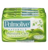 Palmolive Soap Bar Naturals Green 4 x 90g Pack