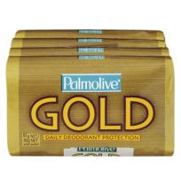 Palmolive Soap Bar Gold 4 x 90g Pack