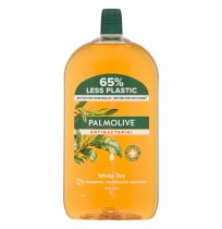 Palmolive Antibacterial Hand Wash Soap White Tea Refill 1 Litre