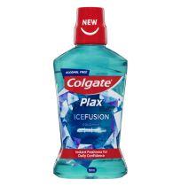 Colgate Plax Mouthwash Alcohol Free Ice Fusion Mint 500ml