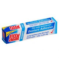 Fitty Dent Denture Adhesive Super 40g