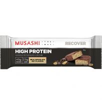 Musashi High Protein Bar Milk Chocolate Nut 90g