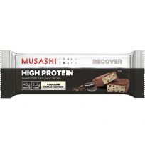 Musashi High Protein Bar Cookies & Cream 90g
