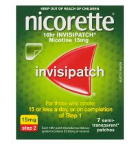 Nicorette Invisipatch 15mg Step 2 7 Patches