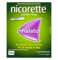 Nicorette Inhalator 15mg 4 Cartridges
