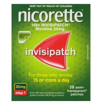 Nicorette Invisipatch 25mg Step 1 28 Pack