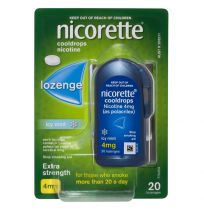 Nicorette Cooldrops Lozenge 4mg 20 Pack