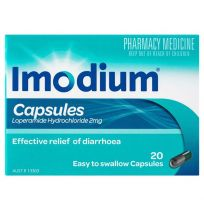 Imodium Capsules 2mg 20 Pack