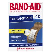 Band Aid Tough Strips 40 Pack