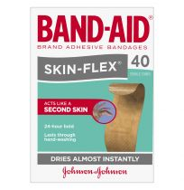 Band Aid Brand Skin-Flex Sterile Strips Regular 40 Pack