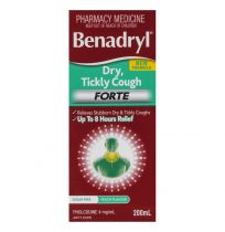 Benadryl Cough Liquid Dry Tickly Forte 200ml