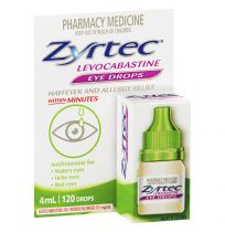 Zyrtec Eye Drops 4ml