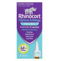 Rhinocort Hayfever & Allergy Non-Drowsy Nasal Spray Original 120 Sprays