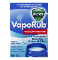 Vicks VapoRub Decongestant Rub 50g