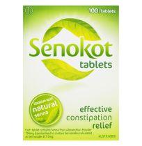 Senokot Tablets With Senna 100 Pack