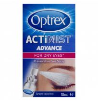 Optrex Actimist Advance Preservative Free Eye Spray 10ml