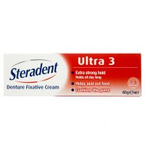 Steradent Ultra 3 Fixative Cream 40g