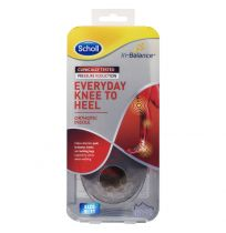 Scholl In-Balance Everyday Knee to Heel Orthotic Insole Large Size 9 - 11