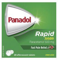 Panadol Rapid Soluble 20 Effervescent Tablets