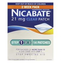 Nicabate Patch Clear 21mg 14 Patches