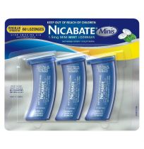 Nicabate Mini Lozenges 1.5mg Mint 60 Lozenges