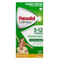 Panadol Children 5-12 Years Orange Suspension 200ml