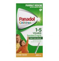 Panadol Children 1-5 Years Orange Suspension 200ml