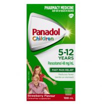 Panadol Children 5-12 Years Strawberry Suspension 100ml