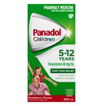 Panadol Children 5-12 Years Strawberry Suspension 200ml
