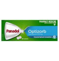 Panadol Optizorb Paracetamol 500mg 50 Tablets
