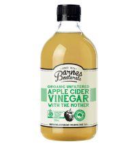 Barnes Apple Cider Vinegar with the Mother 500ml